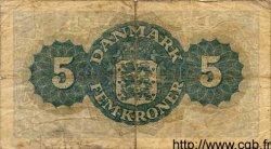 5 Kroner DANEMARK  1944 P.035a TB