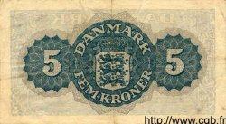5 Kroner DANEMARK  1945 P.035b TTB+