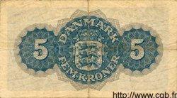 5 Kroner DANEMARK  1949 P.035b TTB