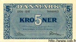 5 Kroner DANEMARK  1950 P.035b pr.SPL