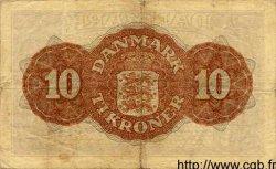 10 Kroner DANEMARK  1944 P.036a TB à TTB