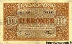 10 Kroner DANEMARK  1944 P.036a TB+
