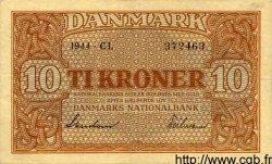 10 Kroner DANEMARK  1944 P.036a TTB+