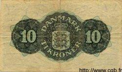 10 Kroner DANEMARK  1948 P.037b TB