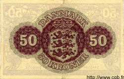 50 Kroner DANEMARK  1954 P.038a TTB+ à SUP