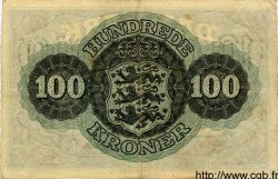 100 Kroner DANEMARK  1944 P.039 TTB
