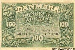 100 Kroner DANEMARK  1951 P.040