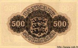 500 Kroner DANEMARK  1944 P.041a TTB+ à SUP