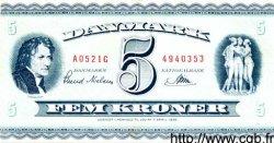 5 Kroner DANEMARK  1952 P.042a TTB+
