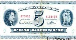 5 Kroner DANEMARK  1958 P.042c pr.TTB