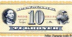 10 Kroner DANEMARK  1952 P.043a SUP
