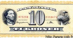 10 Kroner DANEMARK  1952 P.043a