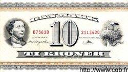 10 Kroner DANEMARK  1956 P.044d