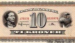 10 Kroner DANEMARK  1965 P.044f pr.NEUF