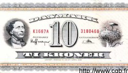10 Kroner DANEMARK  1966 P.044f TTB