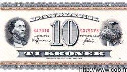 10 Kroner DANEMARK  1970 P.044g TTB+