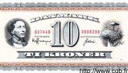 10 Kroner DANEMARK  1974 P.044h SUP