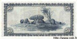 50 Kroner DANEMARK  1956 P.045r1 TTB