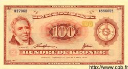 100 Kroner DANEMARK  1970 P.046b pr.SUP