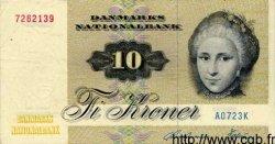 10 Kroner DANEMARK  1972 P.048a TTB+