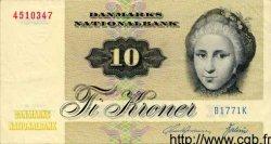 10 Kroner DANEMARK  1977 P.048c