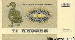 10 Kroner DANEMARK  1977 P.048c SUP