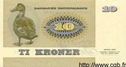 10 Kroner DANEMARK  1977 P.048c pr.NEUF