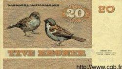 20 Kroner DANEMARK  1979 P.049 TTB