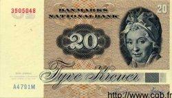 20 Kroner DANEMARK  1979 P.049 SUP