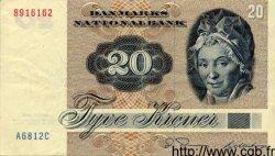 20 Kroner DANEMARK  1979 P.049 TTB+