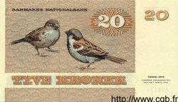 20 Kroner DANEMARK  1981 P.049 SPL