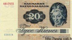 20 Kroner DANEMARK  1985 P.049 SUP