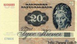 20 Kroner DANEMARK  1988 P.049