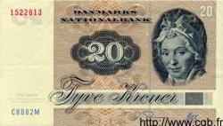 20 Kroner DANEMARK  1988 P.049 SUP