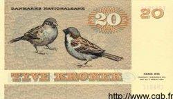 20 Kroner DANEMARK  1988 P.049 NEUF