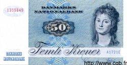 50 Kroner DANEMARK  1972 P.050a NEUF