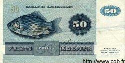 50 Kroner DANEMARK  1982 P.050c TTB