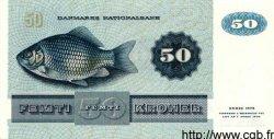 50 Kroner DANEMARK  1984 P.050f SPL