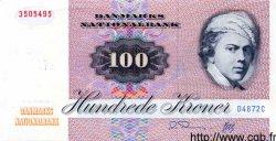 100 Kroner DANEMARK  1987 P.051f SPL
