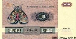 100 Kroner DANEMARK  1988 P.051r SPL