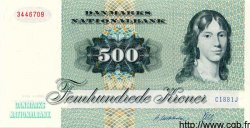 500 Kroner DANEMARK  1988 P.052c NEUF