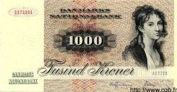1000 Kroner DANEMARK  1977 P.053b NEUF