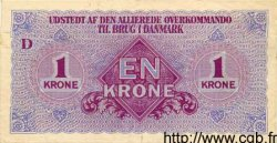1 Krone DANEMARK  1945 P.M02 SUP