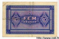 5 Kroner DANEMARK  1945 P.M03