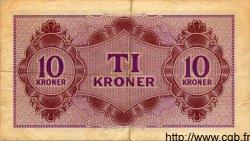 10 Kroner DANEMARK  1945 P.M04 TTB