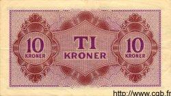 10 Kroner DANEMARK  1945 P.M04