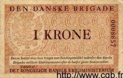 1 Krone DANEMARK  1947 P.M10 TB