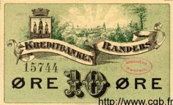 10 Ore DANEMARK  1896 PS.281 SUP