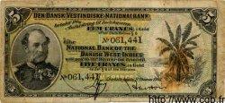 5 Francs DANEMARK  1905 P.017 B+ à TB