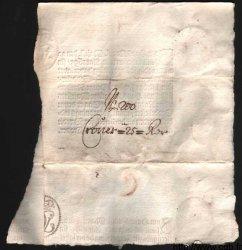 25 Rixdaler Croner NORVÈGE  1695 P.A03 SUP